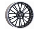 OZ Atelier Forged Botticelli III Matt Black Diamond Cut Wheel