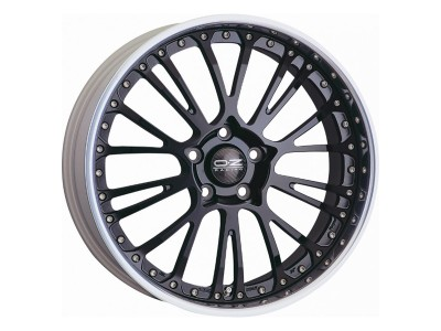 OZ Atelier Forged Botticelli III Matt Black Diamond Cut Wheel