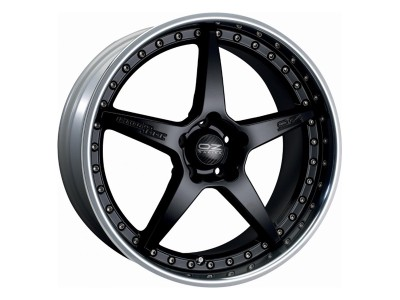 OZ Atelier Forged Crono III Matt Black Wheel
