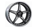 OZ Atelier Forged Crono III Matt Graphite Silver Wheel