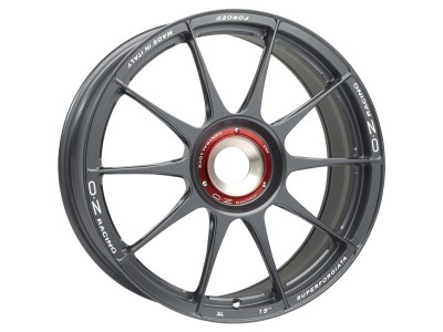 OZ Atelier Forged Superforgiata CL Grigio Corsa Wheel