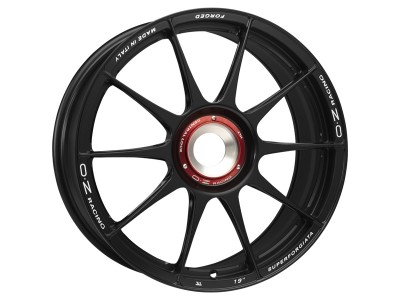 OZ Atelier Forged Superforgiata CL Matt Black Wheel