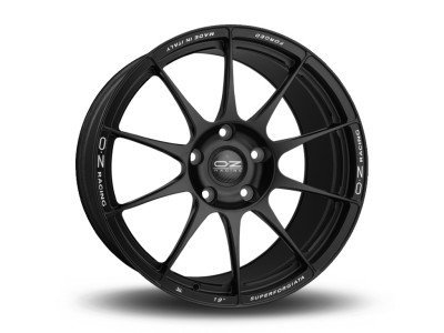 OZ Atelier Forged Superforgiata Matt Black Wheel