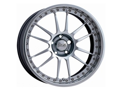 OZ Atelier Forged Superleggera 3 Race Silver Wheel