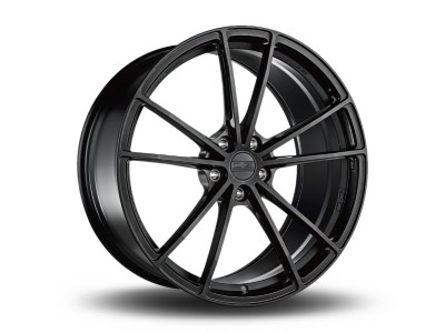 OZ Atelier Forged Zeus Matt Black Wheel