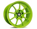 OZ I Tech Allegerita HLT Acid Green Felge