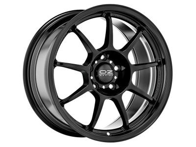 OZ I Tech Alleggerita HLT Gloss Black Felge