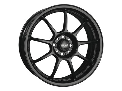 OZ I Tech Alleggerita HLT Matt Black Wheel