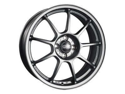 OZ I Tech Alleggerita HLT Matt Graphite Wheel