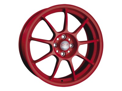 OZ I Tech Alleggerita HLT Matt Red Alufelni