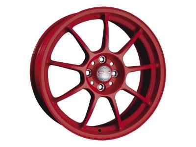 OZ I Tech Alleggerita HLT Matt Red Wheel
