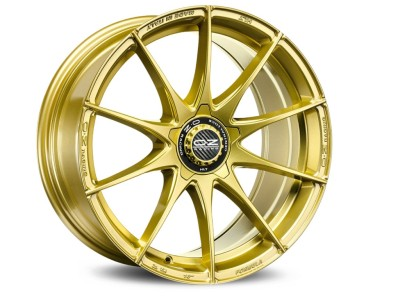 OZ I Tech Formula HLT Race Gold Wheel