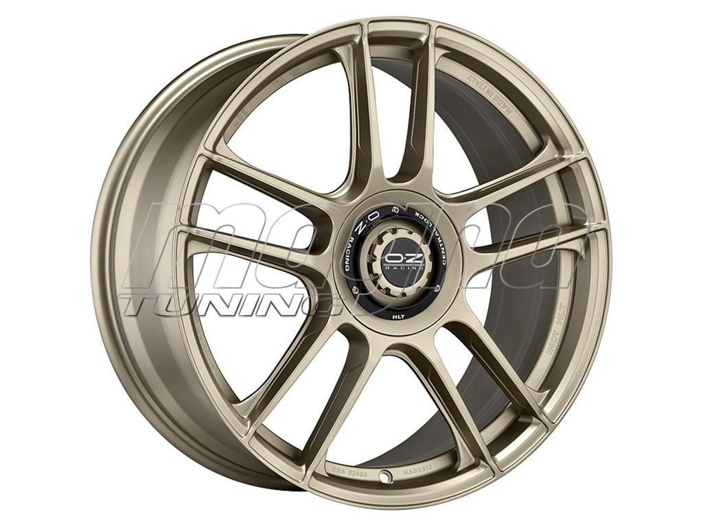 OZ I Tech Indy HLT White Gold Wheel