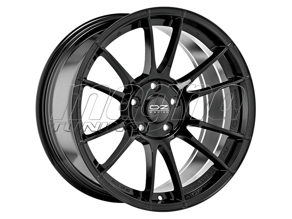OZ I Tech Ultraleggera HLT Gloss Black Wheel