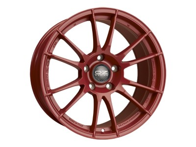 OZ I Tech Ultraleggera HLT Matt Red Wheel
