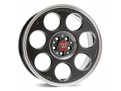 OZ Sport Anniversary 45 Matt Titanium Tech Diamond Lip Wheel
