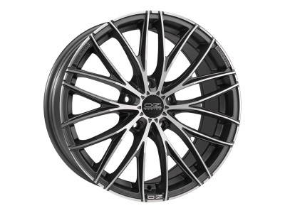 OZ Sport Italia 150 Matt Dark Graphite Diamond Cut Felge