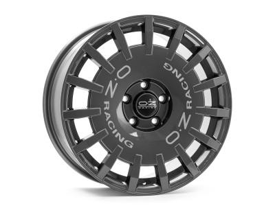 OZ Sport Rally Dark Graphite Silver Lettering Alufelni