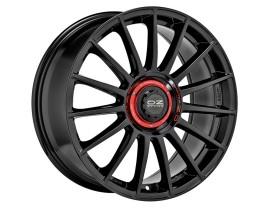 OZ Sport Superturismo Evoluzione Gloss Black Red Lettering Wheel