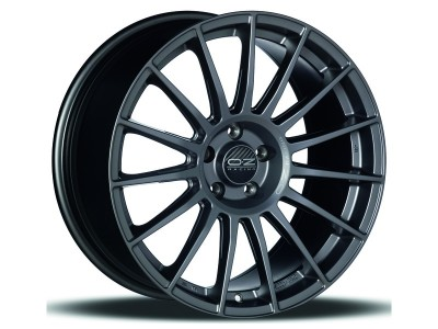 OZ Sport Superturismo LM Matt Graphite Silver Wheel