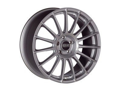 OZ Sport Superturismo LM Matt Race Silver Wheel