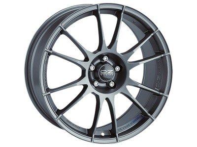 OZ Sport Ultraleggera Matt Graphite Silver Wheel