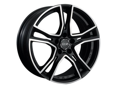 OZ X Line Adrenalina Matt Black Diamond Cut Wheel