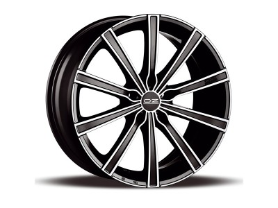 OZ X Line Lounge Matt Black Diamond Cut Wheel