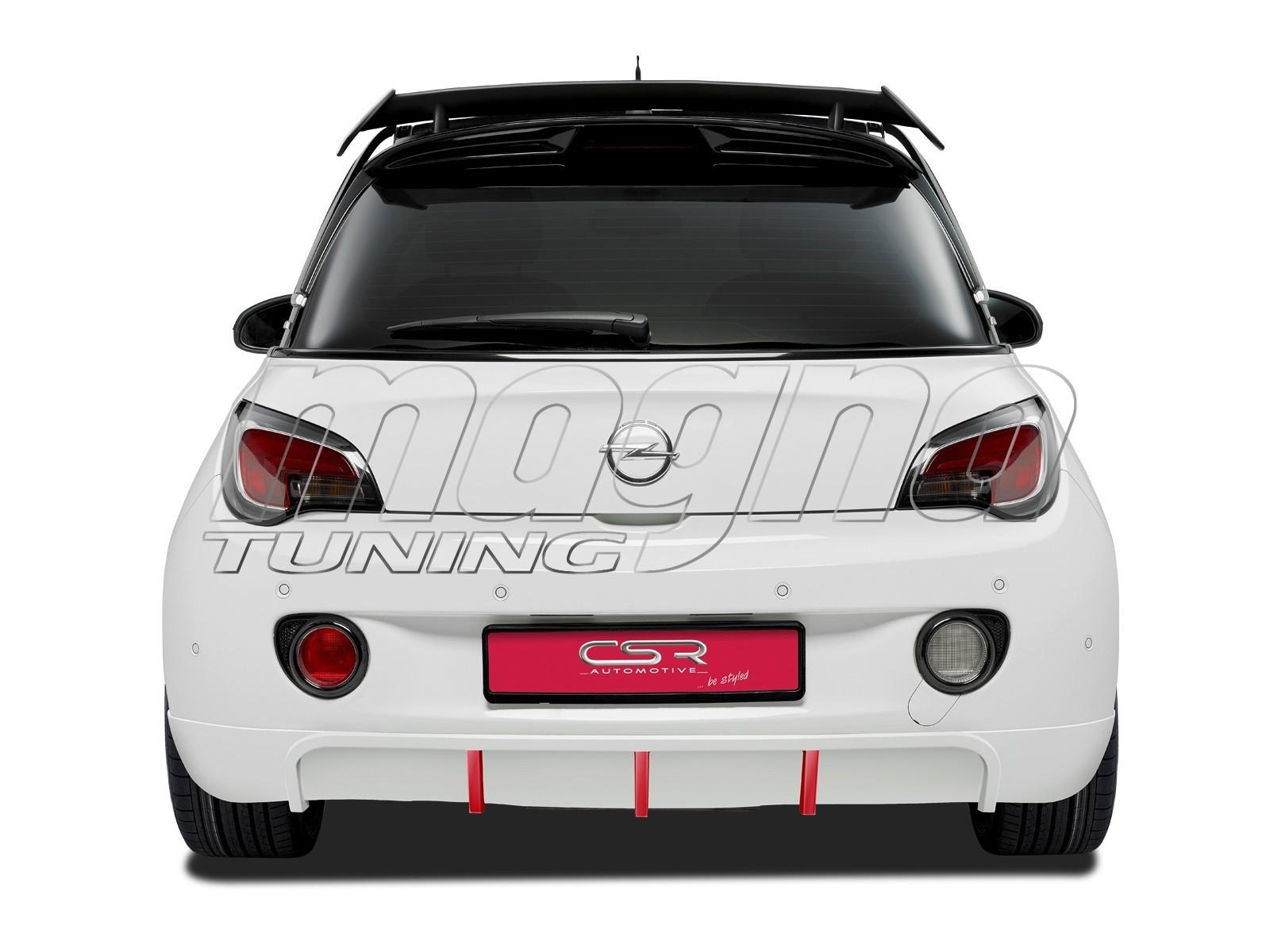 Opel Adam Crono Rear Bumper Extension