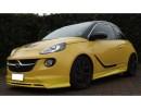 Opel Adam Lynx Front Bumper Extension