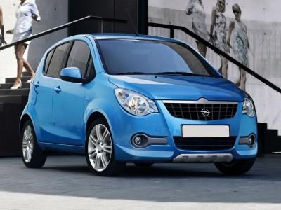 Opel Agila B I-Line Front Bumper Extensions