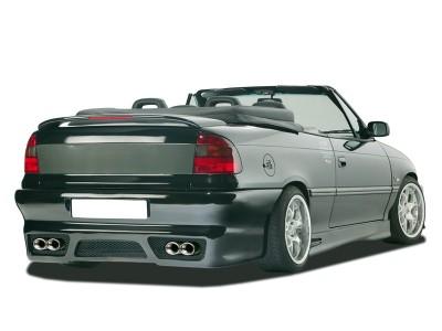 Opel Astra F Cabrio-Limousine GTX-Race Heckstossstange mit Nummerschieldaussparung