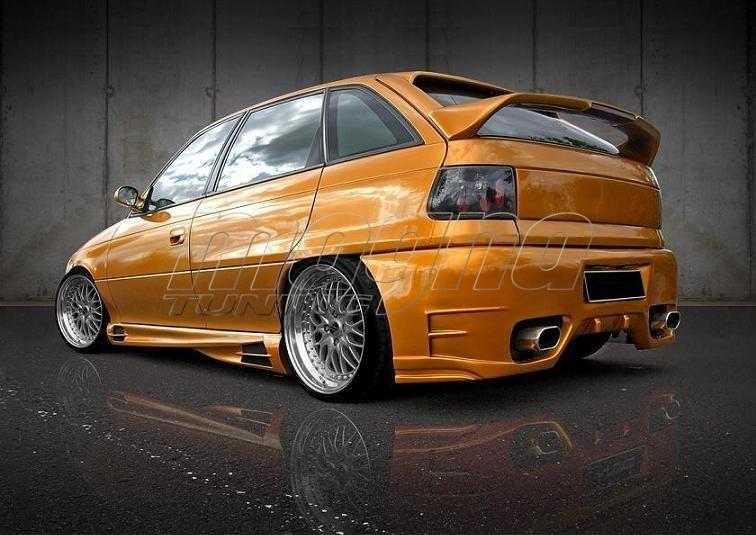 Opel Astra F FXX Rear Bumper