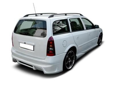 Opel Astra G Caravan J-Style Rear Bumper Extension