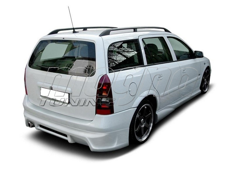 Opel Astra G Caravan J2 Rear Bumper Extension