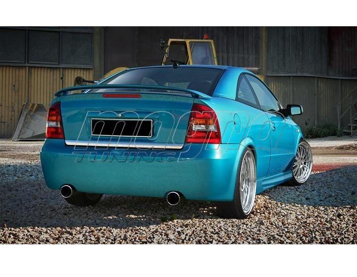 Opel Astra G Clean Rear Bumper