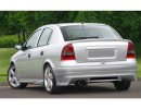 Opel Astra G Sedan/Saloon J-Style Rear Bumper Extension