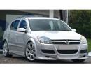 Opel Astra H 5 Door J-Style Front Bumper Extension