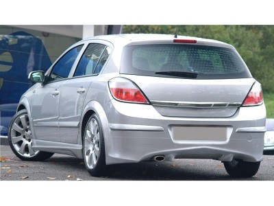 Opel Astra H 5 Door J-Style Rear Bumper Extension