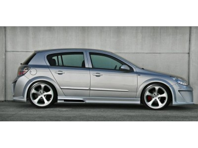 Opel Astra H Attack Side Skirts