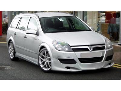 Opel Astra H Caravan J-Style Front Bumper Extension