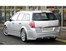 Opel Astra H Caravan J-Style Rear Bumper Extension