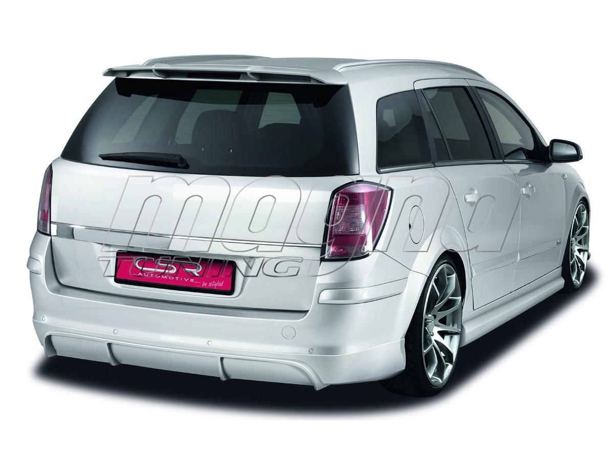 opel astra h caravan xl line rear bumper extension. Black Bedroom Furniture Sets. Home Design Ideas