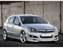 Opel Astra H Facelift 5 Door J-Style Front Bumper Extension