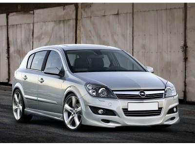 Opel Astra H Facelift 5 Door J-Style Front Bumper Extension