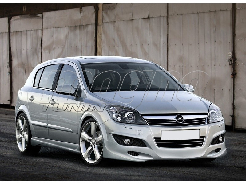 Opel Astra H Facelift J2 Front Bumper Extension