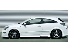 Opel Astra H GTC Attack Side Skirts
