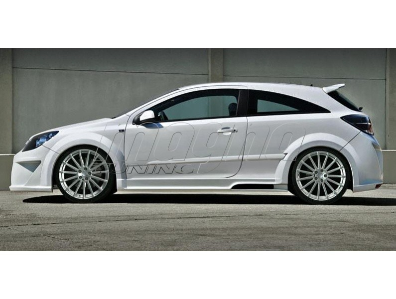 opel astra h gtc attack wide body kit. Black Bedroom Furniture Sets. Home Design Ideas