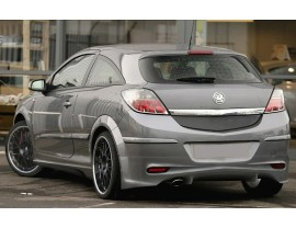 Opel Astra H GTC J-Style Rear Bumper Extension