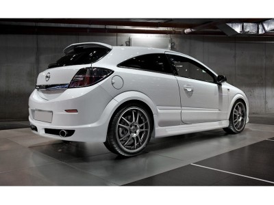 Opel Astra H GTC L-Style Rear Bumper